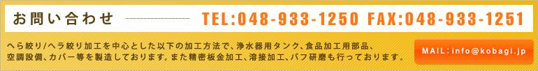 お問い合わせ TEL:048-933-1250 FAX:048-933-1251